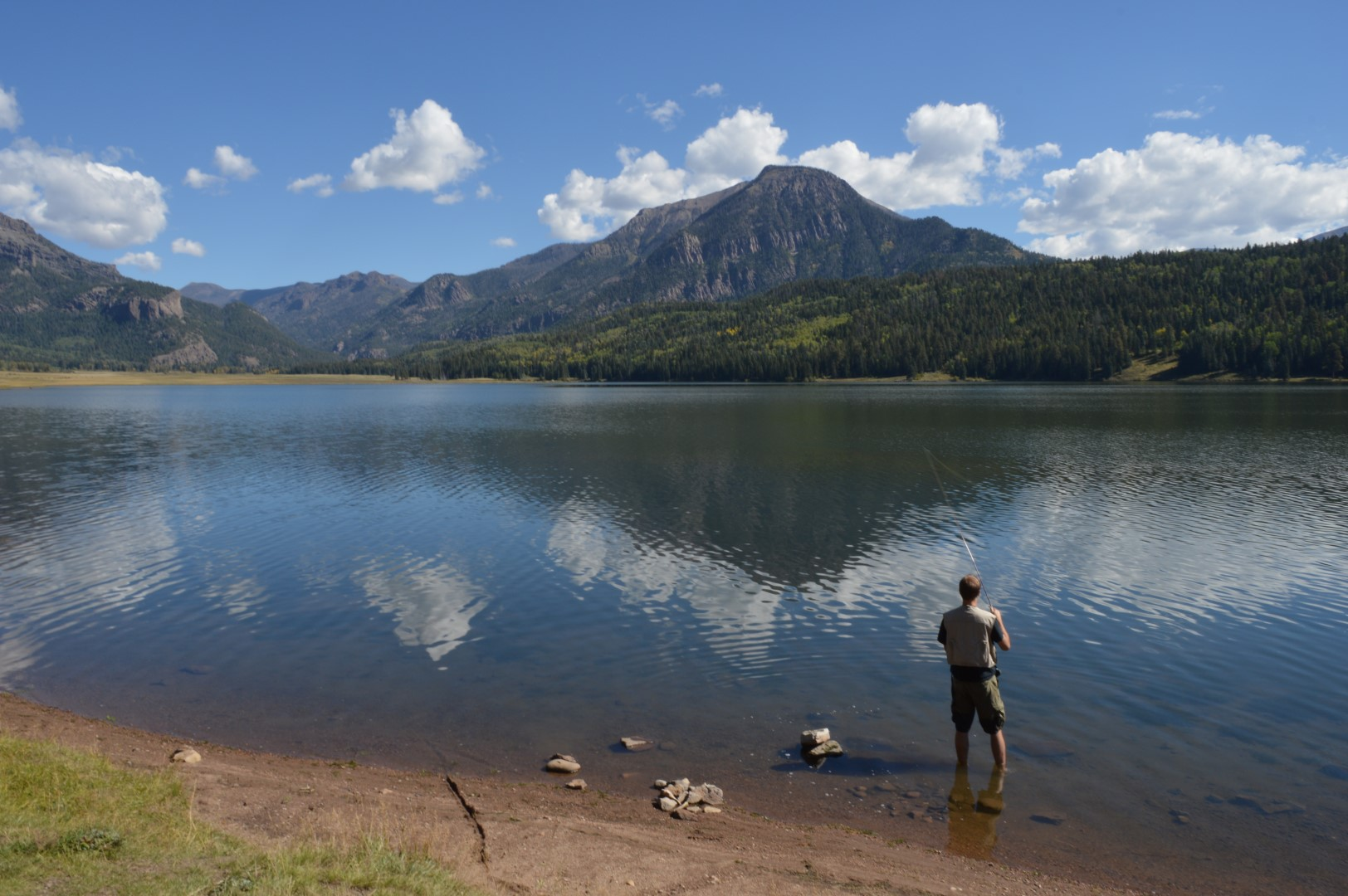 Lake fishing near pagosa springs newsroom for pagosa for Fishing lakes in colorado springs